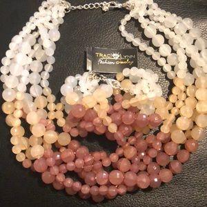 Traci Lynn Necklace bracelet set